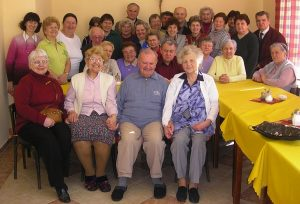 group of older adults