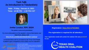 Tech Talk: An Introduction to Teledentistry